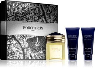 Boucheron Pour Homme coffret III. para homens