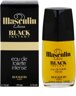 Bourjois Masculin Black Instant Eau de Toillete για άνδρες 112 μλ