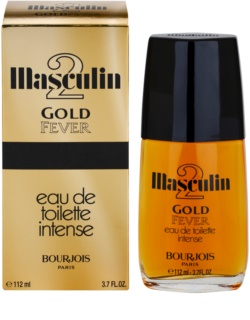 Bourjois Masculin Gold Fever Eau de Toilette para homens 112 ml