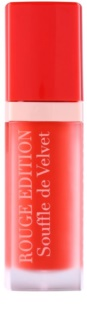 Bourjois Rouge Edition Souffle de Velvet tekutá rtěnka