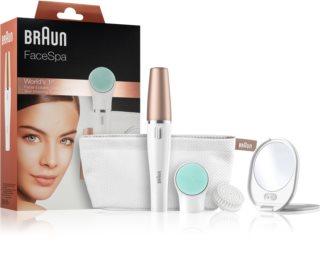Braun Face  851V sistema 3 em1 para depilação, revitalização e tonificação da pele