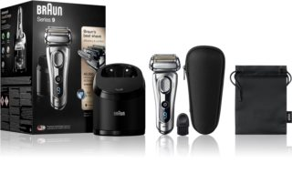 Braun Series 9 9292cc Wet&Dry with Clean&Charge System Foil Hair Trimmer