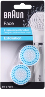 Braun Face 80-e Exfoliation Spare Heads 2 pcs
