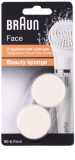 Braun Face  80-b Beauty Sponge capete de schimb 2 pc