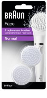 Braun Face  80 Normal nadomestne glave 2 ks