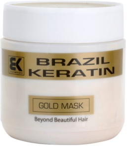 Brazil Keratin Gold Keratin Restore Mask For Damaged Hair