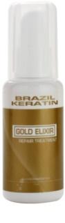 Brazil Keratin Gold cuidado de óleo  nutrição e hidratação