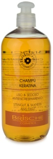 Brische Keratina шампунь для вирівнювання волосся
