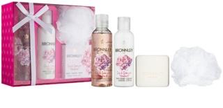 Bronnley Pink Peony & Rhubarb Cosmetic Set I.