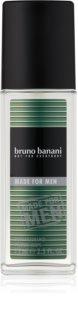 Bruno Banani Made for Men Deo mit Zerstäuber für Herren 75 ml
