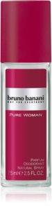 Bruno Banani Pure Woman Deo mit Zerstäuber für Damen 75 ml