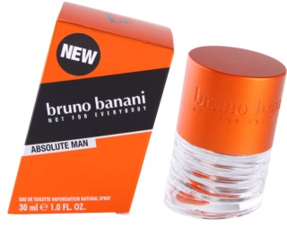 Bruno Banani Absolute Man eau de toilette para homens 30 ml