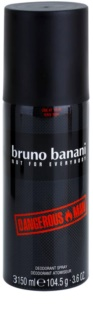 Bruno Banani Dangerous Man deospray per uomo 150 ml