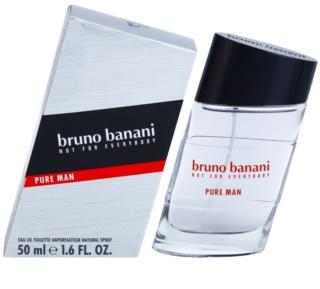 Bruno Banani Pure Man Eau de Toilette für Herren 50 ml