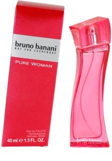 Bruno Banani Pure Woman toaletní voda pro ženy 40 ml