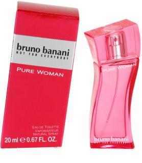 Bruno Banani Pure Woman Eau de Toilette voor Vrouwen  20 ml
