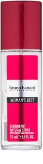 Bruno Banani Woman´s Best deodorant s rozprašovačom pre ženy 75 ml