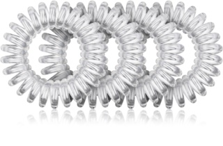 BrushArt Hair Rings goma transparente para el cabello