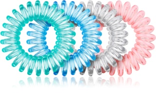 BrushArt Hair Rings Colour gomas para cabello 4 uds