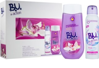 B.U. In Action - Bodystories Gift Set  I.