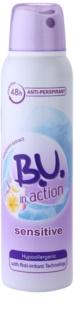B.U. In Action Sensitive Antitraspirante für Damen 150 ml