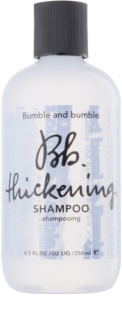 Bumble and Bumble Thickening shampoo to restore the density of the weakened hair