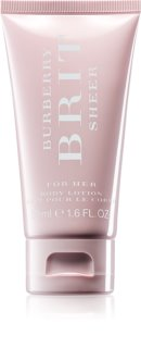 Burberry Brit Sheer leite corporal para mulheres 50 ml