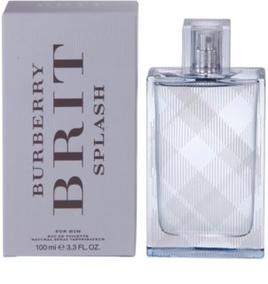 Burberry Brit Splash eau de toilette para hombre 100 ml