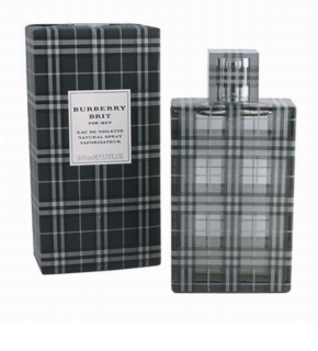 Burberry Brit Men Eau de Toilette voor Mannen 100 ml