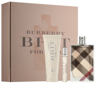 Burberry Brit for Her Gift Set  XII.