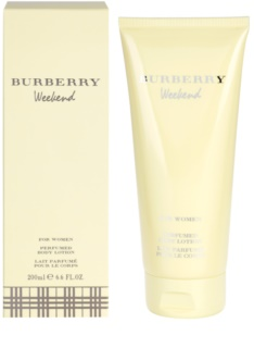 Burberry Weekend for Women leite corporal para mulheres 200 ml