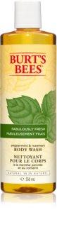 Burt's Bees Peppermint & Rosemary osvěžující sprchový gel