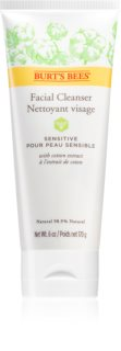 Burt's Bees Sensitive нежно почистващ крем за чувствителна кожа на лицето