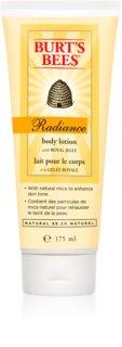 Burt's Bees Radiance leite corporal hidratante para a pele normal