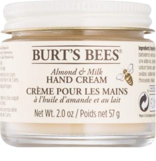 Burt's Bees Almond & Milk krema za roke z mandljevim oljem
