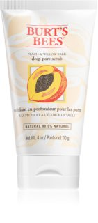 Burt's Bees Peach & Willow Bark scrub βαθιάς απολέπισης