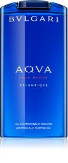 Bvlgari AQVA Pour Homme Atlantiqve sprchový gél pre mužov 200 ml
