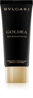 Bvlgari Goldea The Roman Night mlijeko za tijelo za žene 100 ml  sa šljokicama