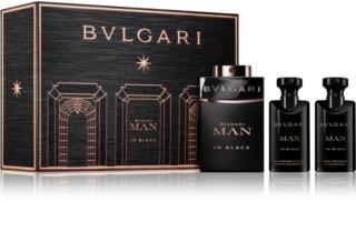 Bvlgari Man in Black Gift Set  III. voor Mannen