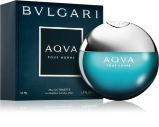 Bvlgari AQVA Pour Homme eau de toilette pentru barbati 50 ml