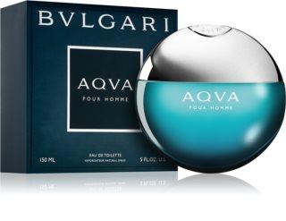 Bvlgari AQVA Pour Homme eau de toilette férfiaknak 150 ml