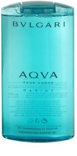 Bvlgari AQVA Marine Pour Homme gel de dus pentru bărbați 200 ml