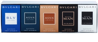 Bvlgari The Miniature Collection set cadou IV.