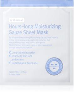 By Wishtrend Hours-long платнена маска с силно хидратиращ и подхранващ ефект