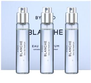 Byredo Blanche eau de parfum nőknek 3 x 12 ml (3x utántöltő szórófejjel)