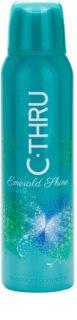 C-THRU Emerald Shine dezodorant w sprayu dla kobiet 150 ml
