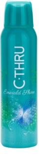 C-THRU Emerald Shine deodorant Spray para mulheres 150 ml