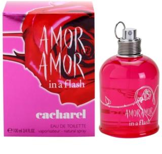 Cacharel Amor Amor In a Flash Eau de Toilette pentru femei 100 ml