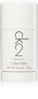 Calvin Klein CK2 desodorizante em stick unissexo 75 g
