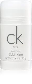 Calvin Klein CK One desodorante en barra unisex 75 g